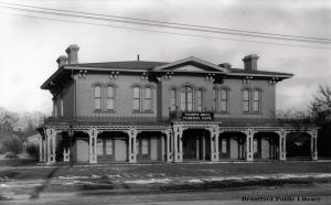 Image for Thorpe Brothers Funeral Home (Former home of Sara Jeanette Duncan) - 96 West Street