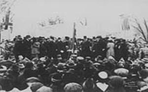 Image for Unveiling of the Bell Memorial, October 24, 1917