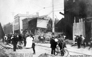 Image for Theatorium Theatre, 43 Colborne Street - 1908 Explosion