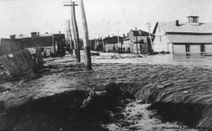 Image for West Brant Flood - Oxford Street (Colborne) and Gilkison Street