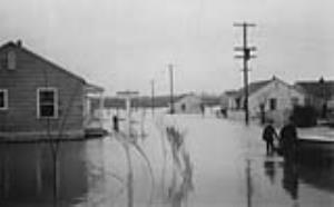 Image for Eagle Place Flood - Seventh Avenue, circa late 1940's