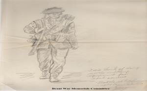 Image for Brant County War Memorial - Preliminary Sketch for Bronze Statue