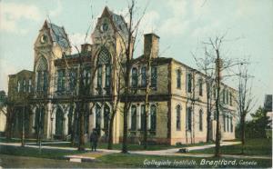 Image for Brantford Collegiate Institute (First Building) - George Street between Marlborough and Grey Street